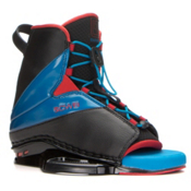 CWB Empire Wakeboard Bindings, Black-Blue-Red, medium