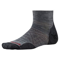 SmartWool PHD Outdoor Light Mini Mens Socks, Medium Gray, 256