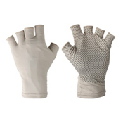Columbia Coolhead Fingerless Gloves Paddling Gloves 2017, Fossil, medium