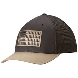 Columbia Mesh Hat, Shark-British Tan Tree Patch, 256