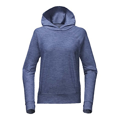 The North Face Motivation Classic Womens Hoodie, Coastal Fjord Blue Heather, viewer