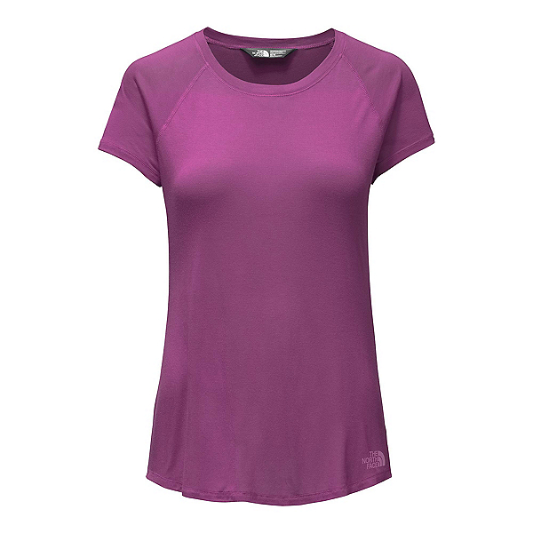 The North Face Versitas Short Sleeve Womens T-Shirt, Wood Violet, 600