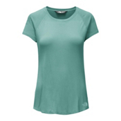 The North Face Versitas Short Sleeve Womens T-Shirt, Agate Green, medium