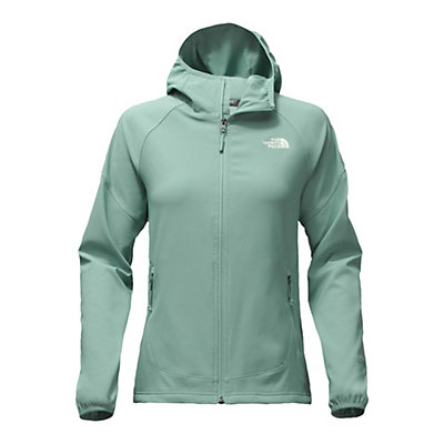 The North Face Nimble Womens Hoodie, Trellis Green, viewer