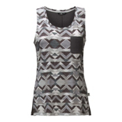 The North Face EZ Tank Womens Tank Top, High Rise Grey Triangle Tribal, medium