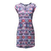 The North Face EZ Tee Dress Dress, Honeysuckle Pink Triangle Trib, medium