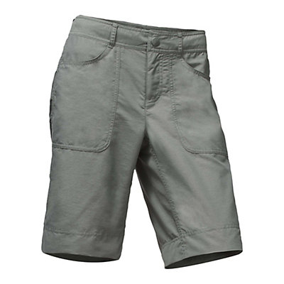 The North Face Horizon 2.0 Roll-Up Womens Shorts, Sedona Sage Grey Heather, viewer
