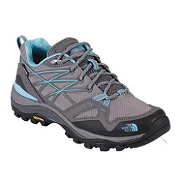 The North Face Hedgehog Fastpack GTX Womens Shoes, Dark Gull Grey-Fortuna Blue, 256