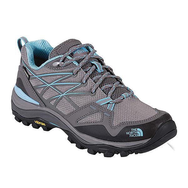 The North Face Hedgehog Fastpack GTX Womens Shoes, Dark Gull Grey-Fortuna Blue, 600
