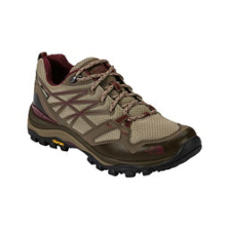 The North Face Hedgehog Fastpack GTX Womens Shoes, Dune Beige-Deep Garnet Red, 256