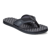 The North Face Base Camp Plus Mens Flip Flops, TNF Black-Graphite Grey, medium