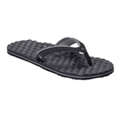The North Face Base Camp Plus Mini Womens Flip Flops, TNF Black-Q Silver Grey, medium