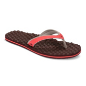 The North Face Base Camp Plus Mini Womens Flip Flops, Cayenne Red-Regal Red, medium