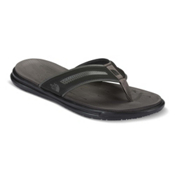 The North Face Base Camp XtraFoam Mens Flip Flops, TNF Black-Dark Shadow Grey, medium