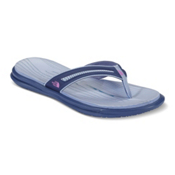 The North Face Base Camp XtraFoam Womens Flip Flops, Coastal Fjord Blue-Sweet Viole, medium