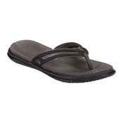 The North Face Base Camp XtraFoam Womens Flip Flops, TNF Black-Dark Gull Grey, medium