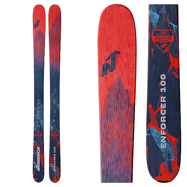 Nordica Enforcer 100 Skis 2018, , 600