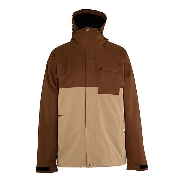 Armada Emmett Mens Insulated Ski Jacket, Brown, 600