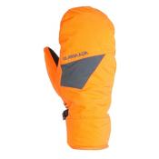 Armada Tremor Mittens, October Orange, medium