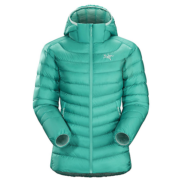 Arc'teryx Cerium LT Hoody Womens Jacket, Castaway, 600