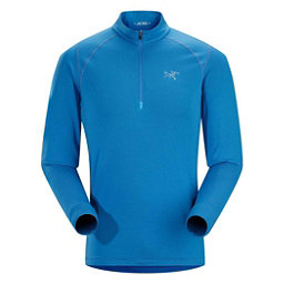 Arc'teryx Thetis Zip Neck Mens Mid Layer, Borneo Blue, 256