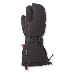 Gyde Heated 3-Finger Mitt, Black, 256