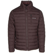 Gyde Calor Heated Mens Jacket, Raisin, medium