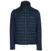 Gyde Hybrid Heated Mens Jacket, Navy, medium