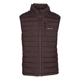 Gyde Calor Heated Mens Vest, Raisin, 256