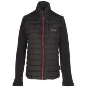 Gyde Hybrid Heated Womens Jacket, Black, medium