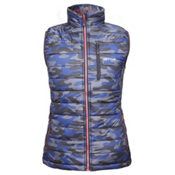 Gyde Calor Heated Womens Vest, Tonal Camo, medium
