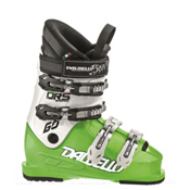 Dalbello Scorpion DRS 60 Junior Race Ski Boots, Lime-White, medium