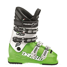 Dalbello Scorpion DRS 60 Junior Race Ski Boots, Lime-White, 256