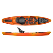 Wilderness Systems A.T.A.K. 140 Fishing Kayak 2017, Mango, medium