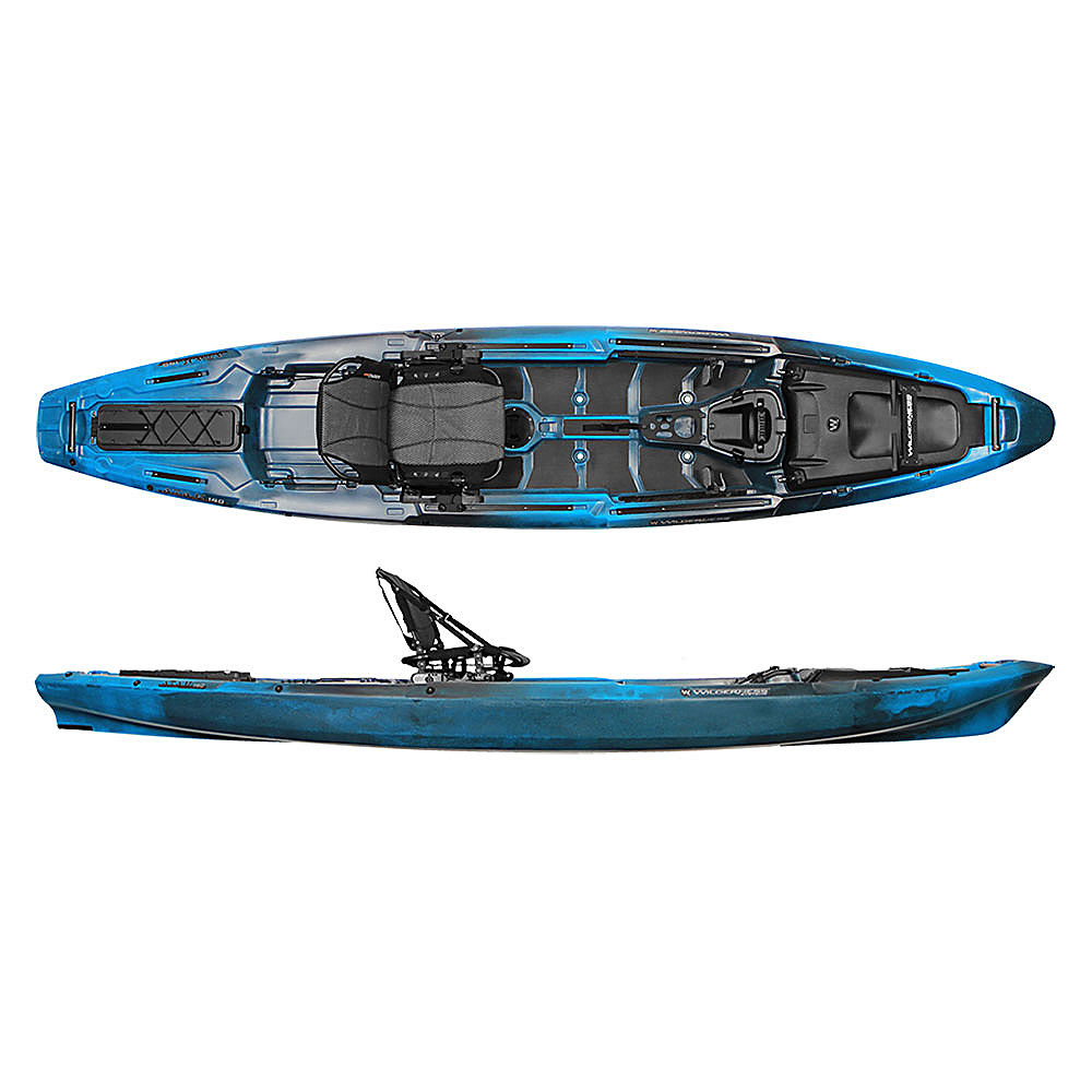 Wilderness systems a t a k 140 fishing kayak 2017 ebay for New fishing kayaks 2017