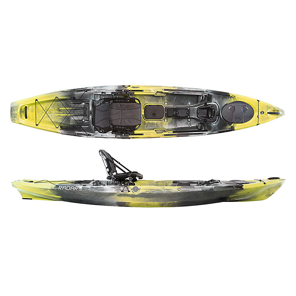 Wilderness systems radar 135 fishing kayak 2017 ebay for Wilderness systems fishing kayaks