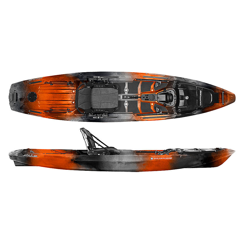 Wilderness systems a t a k 120 fishing kayak 2017 ebay for Wilderness systems fishing kayaks