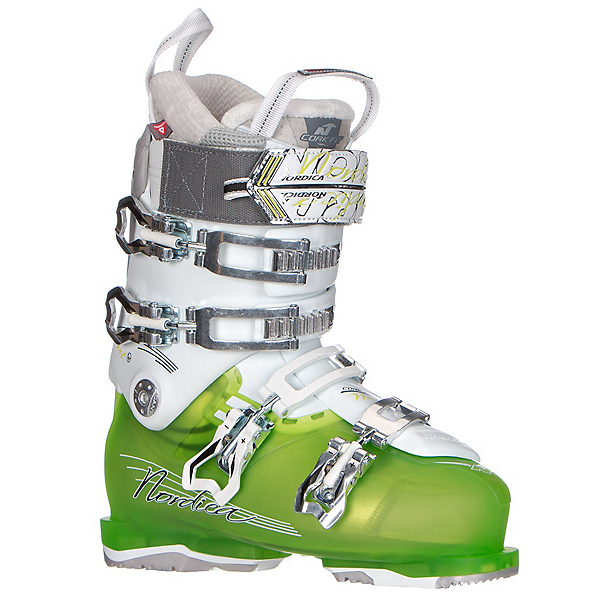 Nordica NXT N1 W Womens Ski Boots, Green, 600