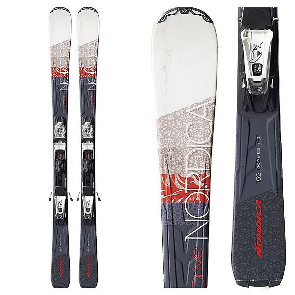 Nordica Drive 78 CA EVO Womens Skis with EVO Light CT Bindings, , 600