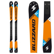 Blizzard SL FIS Race Skis, Orange, medium
