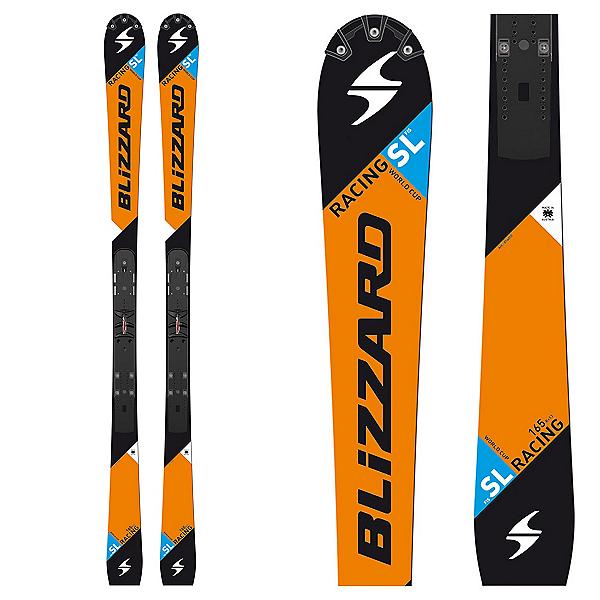 Blizzard SL FIS Race Skis, Orange, 600