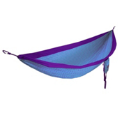 ENO DoubleNest Flower of Life Hammock 2017, Purple-Teal, medium