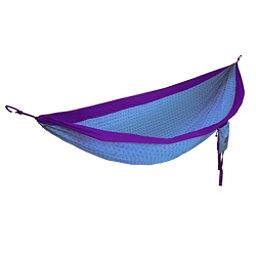 ENO DoubleNest Flower of Life Hammock 2017, Purple-Teal, 256