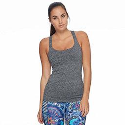 Body Glove Borasco Womens Tank Top, Grey Black Heather, 256