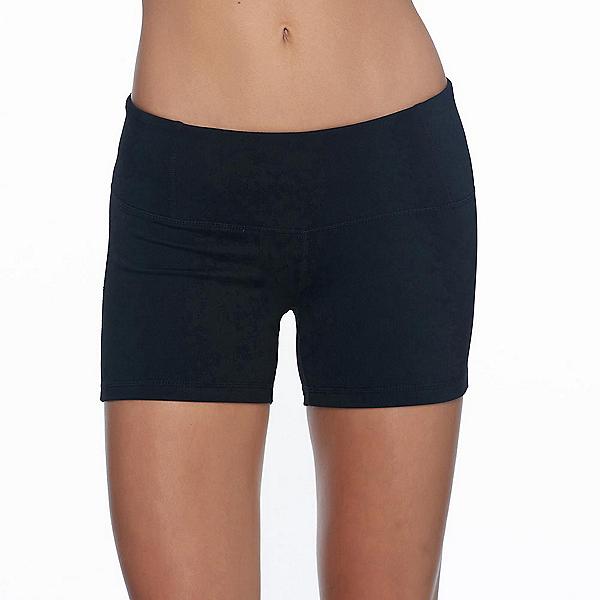 Body Glove Get Shorty Womens Hybrid Shorts, Black, 600