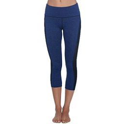 Body Glove Apex Capri Womens Pants, Midnight Black Heather, 256