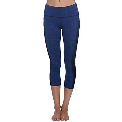 Body Glove Apex Capri Womens Pants, Midnight Black Heather, viewer