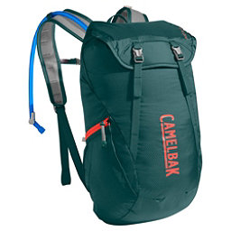 CamelBak Arete 18 Hydration Pack 2017, Deep Teal-Hot Coral, 256