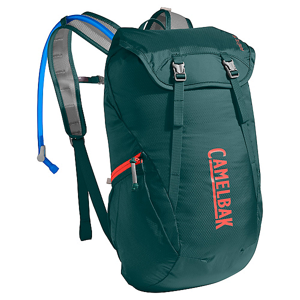 CamelBak Arete 18 Hydration Pack 2017, Deep Teal-Hot Coral, 600