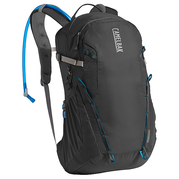 CamelBak Cloud Walker 18 Hydration Pack 2017, Charcoal-Grecian Blue, 600